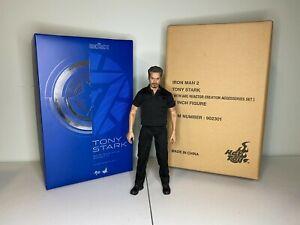 Hot Toys Tony Stark Iron Man 2 w/ Arc Reactor Accessories Set 1/6 Scale 100%