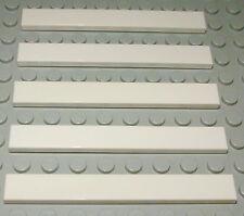Lego Fliese - Kachel 1x8 Weiss 5 Stück                                     (761)