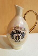 antike kleine Vase,Andenken an München, Dü-Co Kunst Rehau Bavaria, H 13cm