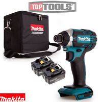 Makita DTD152Z LXT 18v Impact Driver Body With 2 x 3Ah Batteries & Cube Bag