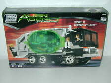 New Mega Blocks Alien agency The Arrival #5611 Mobile Recovery Unit Men In Black