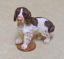 1:12 Escala Resina Springer Spaniel Perro Casa de muñecas en miniatura Pet Accesorio Lp6