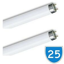 25 x 18w 2Ft T8 Fluorescent Tube Day Light Lamp Fitting Bulb White L18w 865 SAD