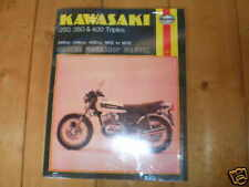 workshop manual for Kawasaki kh250 kh400 s1 s2 s3 kh english version