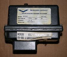 Milwaukee MCR200I Electric Actuator