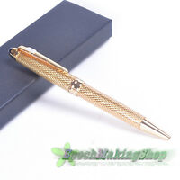 free shipping jinhao 163 NOBLEST golden CARVED Ball Point Pen NEW