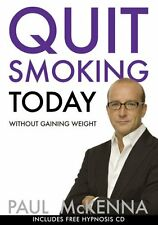 Quit Smoking Today (Book & CD) by Paul McKenna | Paperback Book | 9780593055366