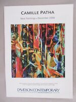 Camille Patha Art Gallery Exhibit PRINT AD - 2006