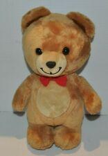 KRAFT BEAR PLUSH DOLL 10 inch , Red bow tie GUND