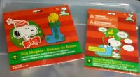 Peanuts Snoopy Woodstock Christmas Ornament Craft Kits Foam Felt New Crafts
