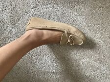 Designer Lover? Michael Kors Daisy Moc Loafers In Suede Toffee - Size 8.5