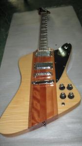 Custom Shop Firebird Natural Color Flame Maple Electric Guitar
