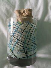 New listing Set Of 2 Ny City bike Map Glasses, New in Box