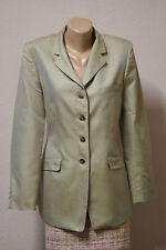 Luciano Barbera 100% silk blazer jacket sz 46 (M)