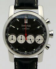 Eberhard & Co Chrono 4 acciaio da uomo automatico cronografo ref. 31041 di 2003