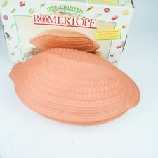 Romertopf clay roasting dish.VGC.Made in West Germany No chips. with Box
