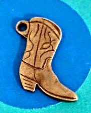 Charm O40 Cowboy Boot Sterling Silver Vintage Bracelet