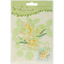 Lea'bilities corte y Grabación En Relieve Plantilla - Varias Flores 007 Narcisos