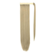 SEIKEA Wrap Around Ponytail Straight Hair Extension Clip in 28 Inch Synthetic Ha
