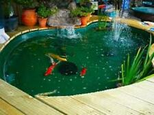 2W 175LPH  POND FOUNTAIN SOLAR POWERED WATER PUMP, FISH AERATOR, AUST OWNED/OP