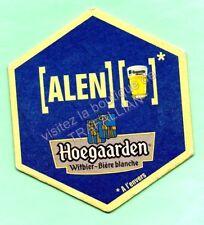 sous-bock HOEGAARDEN bierdeckel coaster bierviltje Lot 1244