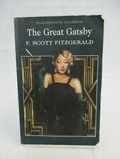 The Great Gatsby F.Scott Fitzgerald Paperback Wordsworth Classics 2001