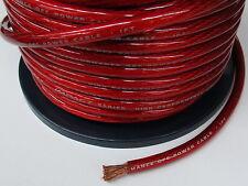 Kupfer Stromkabel Pluskabel Powerkabel 35mm²  OFC rot /m