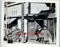 Photo 1930's? Japan People Horse Drawn Carts Street Scenes Shops Old Woman LOT