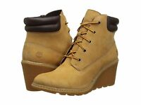 "Women's Timberland Earthkeepers Amston 6"" Boot Bootie Wheat 8251A"