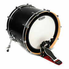 Evans EMAD Coated White Bass Drum Head, 22 Inch - BD22EMADCW