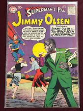 SUPERMAN'S PAL JIMMY OLSEN 44 Professionally Graded FN- 5.5 WOLFMAN 1960