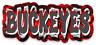 O.S.U. Ohio State University Ohio State OSU Buckeyes Graffiti MAGNET