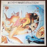 """Dire Straits – Alchemy - Dire Straits Live- Double Vinyl 12"""" LP - 1984 Near Mint"""