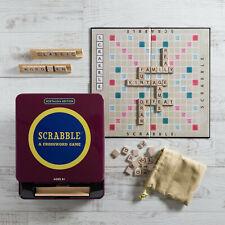 Scrabble Nostalgia Editon in Collectible Tin Vintage 1948 Classic Board Game New