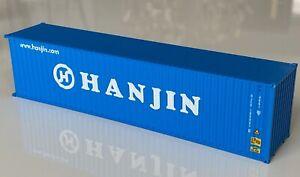 PT Trains 840043 HO 1:87 40HC 40ft Shipping Container - Hanjin #HJCU 1689670