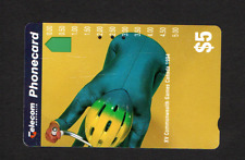 Australia Telecom Phone Card Cycling Commonwealth Games Canada 1994