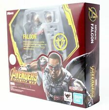 Marvel Avengers Infinity Guerra Falcon Action Figure S.H.Figuarts Bandai