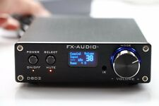 SainSonic FX Audio D802 2x80W 192KHz Digital Remote Power Amplifier with USB USA