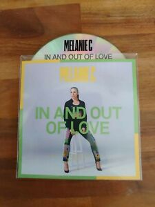 Melanie C - In And Out Of Love 2 Remix Promo - New Upfront Brazilian  CD PROMO