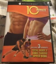 Tony Hortons 10 Minute Trainer: Total Body 2, Core Cardio, Upper Body (DVD)