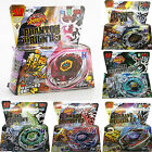 4D Beyblade Set Fusion Top Metal Fight Master Rapidity Launcher Grip Kids Toys
