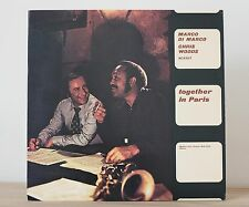LP Marco Di Marco Together in Paris 1° Stampa Signed Autografo N.MINT vinile