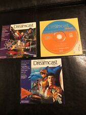 3 Demo Games Sega Dreamcast Magazine Volume 8 10 11 Disc Lot Game Bundle Rare