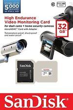 SANDISK HIGH ENDURANCE VIDEO MONITORING CARD C10 32GB  MICROSDHC 32G 32GB MEMORY