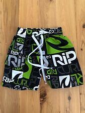 Rip Curl Boys elastic & drawstring waist Swim stretch Board short - Size 4