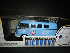 GREENLIGHT VOLKSWAGEN MICROBUS 1962 bleu 1/18 édition limitée 300 unités