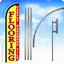 Flooring Carpet Hardwood Tiles Windless Swooper Feather Flag 15 Kit Yz