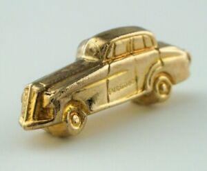 Vintage 9ct Yellow Gold Classic Car Charm / Pendant - 1963
