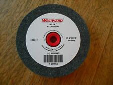 WESTWARD ALUMINUM OXIDE BENCH GRINDING WHEEL 5 X .5 X 1  6NW94