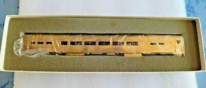 The P Company Brass  P.R.R. P85B Passenger Coach + C.D.S. Decals +Parts Bag